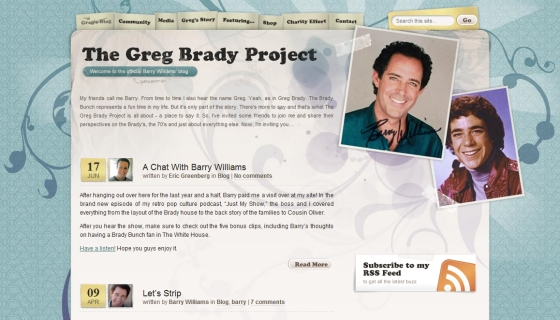 The Greg Brady Project