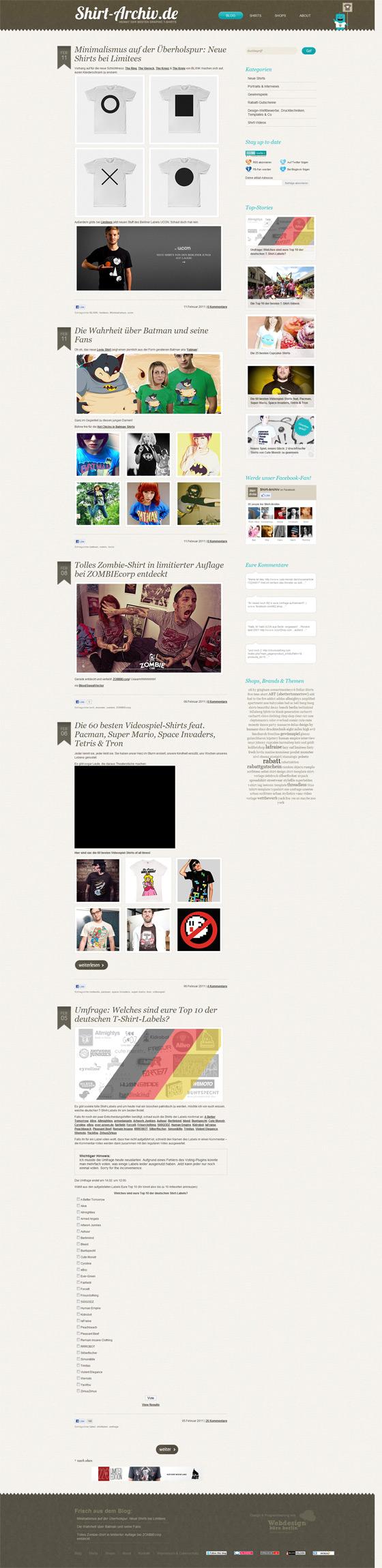 Shirt-Archiv