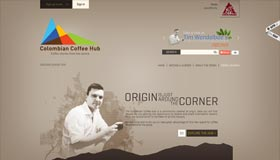 Colombian Coffee Hub