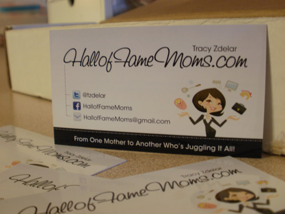 business cards for bloggers