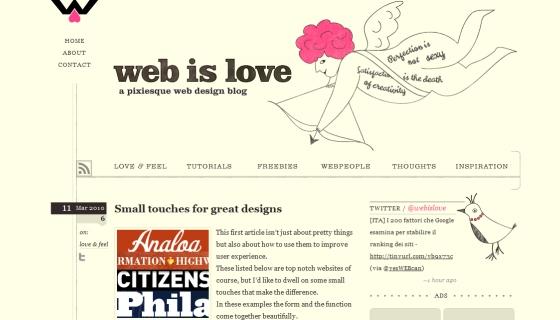 Web is Love