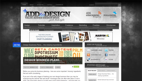 Add To Design - Value Added Design Buzz