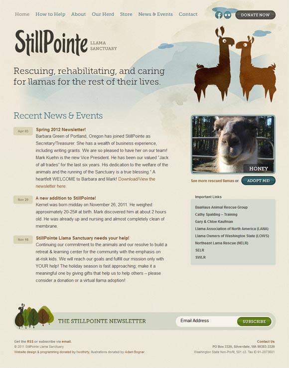 StillPointe Llama Sanctuary