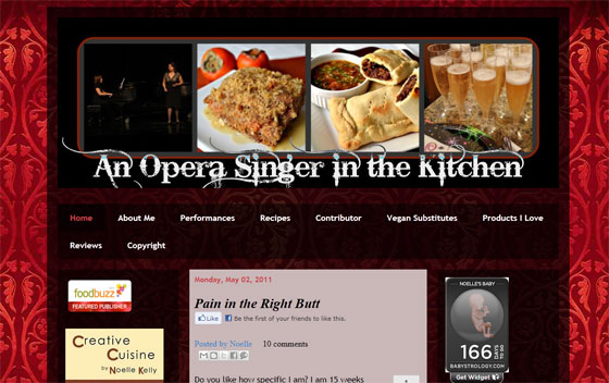 An Opera Signer in the Kitchen