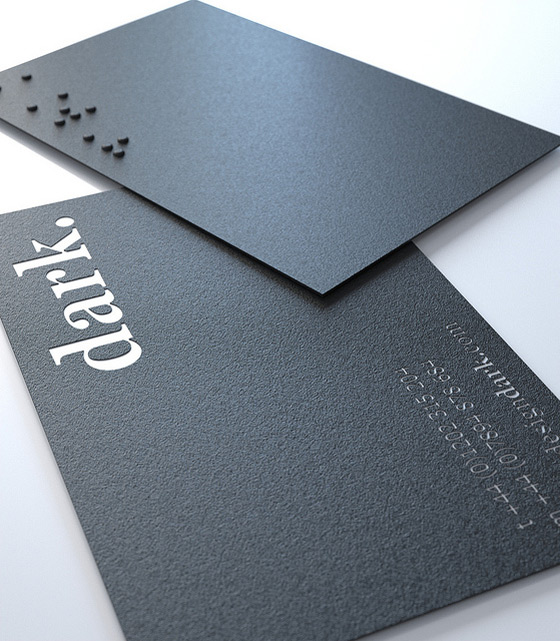 Business cards for bloggers blog design heroes braille texture and feel business cards for bloggers colourmoves